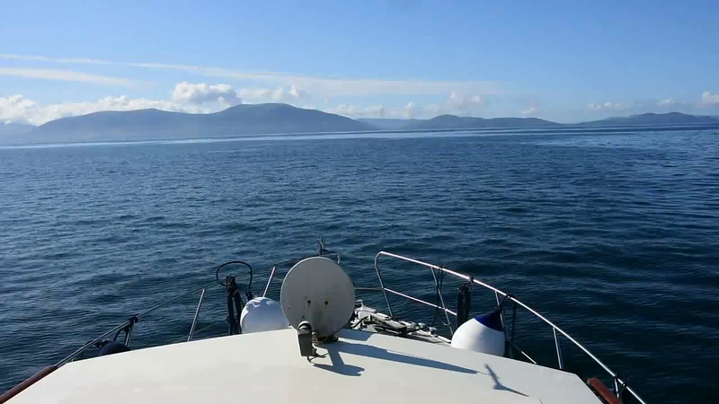 """09:52...<br /> VIDEO<br /> <br /> 09:52...click the above image to view an 80 second video clip  of """"Arthur"""" on Dingle Bay. <br /> <br /> When the video is 'Loaded' you will need to click on the 'Play' button to start the video playback.<br /> <br /> NOTE that viewing the video will cause another page to open in which the video will play. To return to the PhotoJournal click on the X at top right-hand corner of the video page  OR hit the 'Back' button on your browser."""