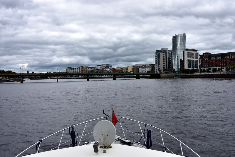 15:04... Limerick City... as viewed from the water!