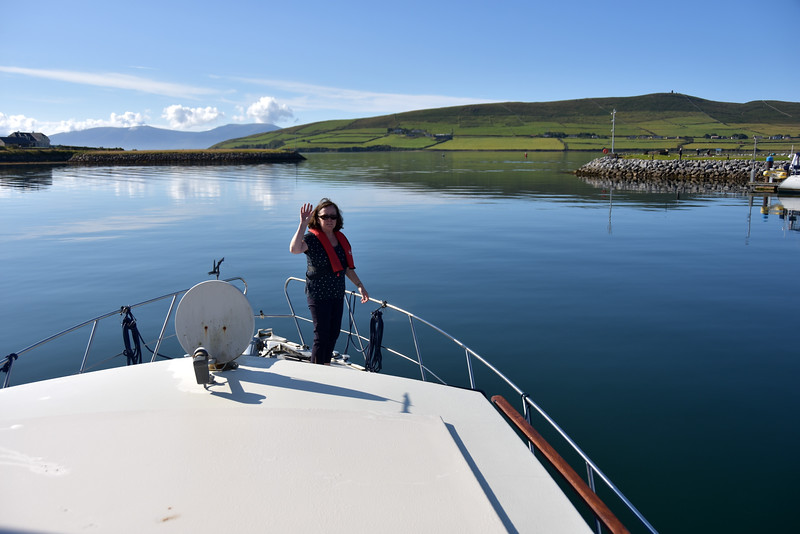 09:36... Arthur departs Dingle. Passage to Kilrush will take approx. nine hours...