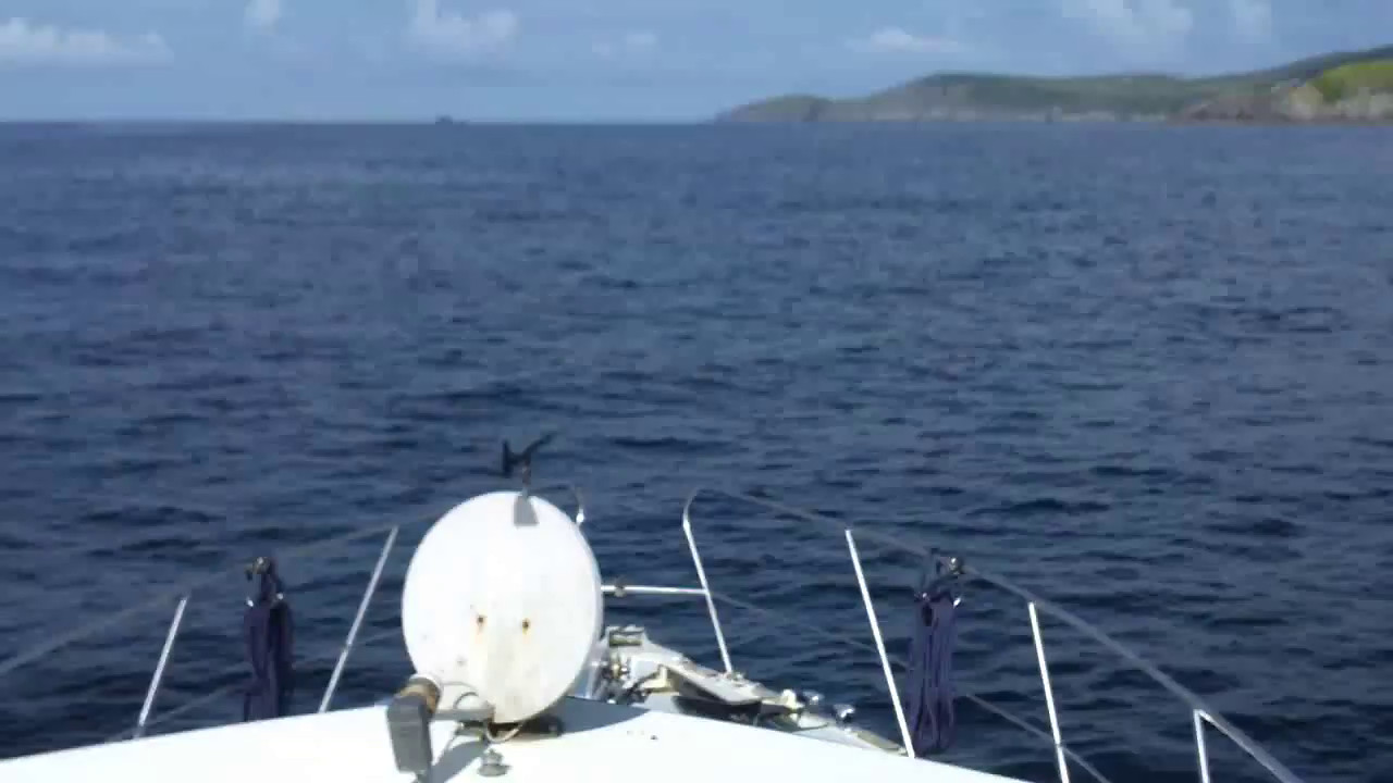 "VIDEO<br /> <br /> 10:34...click the above image to view a 23 second video clip  of ""Arthur"" approaching the entrance to Dursey Sound. <br /> <br /> N.B. Wind impacts on the audio of this video. <br /> <br /> When the video is 'Loaded' you will need to click on the 'Play' button to start the video playback.<br /> <br /> NOTE that viewing the video will cause another page to open in which the video will play. To return to the PhotoJournal click on the X at top right-hand corner of the video page  OR hit the 'Back' button on your browser."