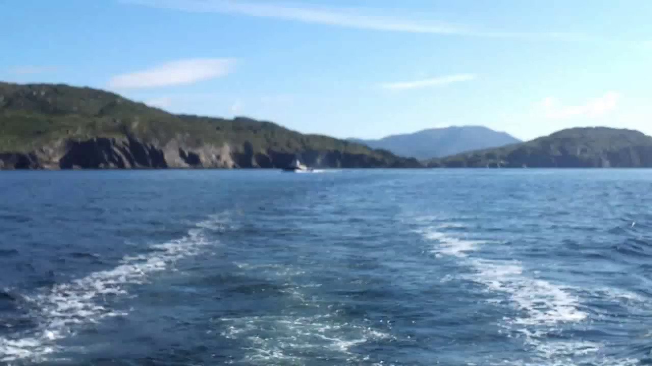 "VIDEO<br /> <br /> 09:35...click the above image to view a 25 second video clip  of ""Arthur"" looking back at the entrance to Berehaven. <br /> <br /> When the video is 'Loaded' you will need to click on the 'Play' button to start the video playback.<br /> <br /> NOTE that viewing the video will cause another page to open in which the video will play. To return to the PhotoJournal click on the X at top right-hand corner of the video page  OR hit the 'Back' button on your browser."