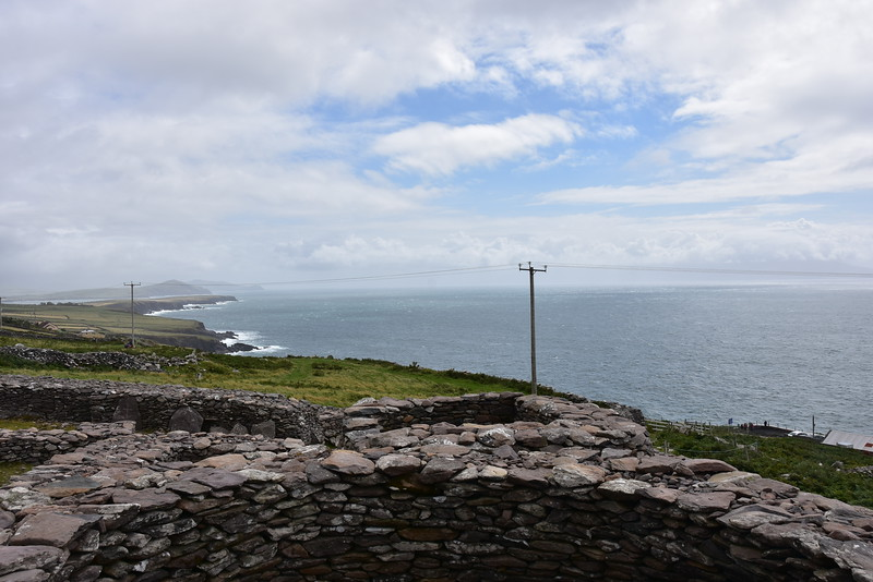 Dingle Bay as viewed from the Beehive Huts.