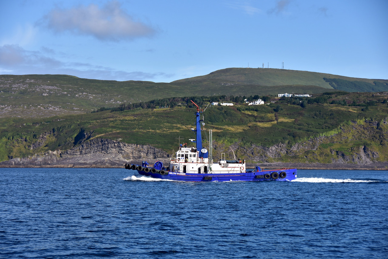 09:40...Tug vessel 'Celtic Banner' passes us on our starboard side.