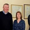 Paul ('Arthur'), Donie Herraghty (Lough Ree Yacht Club), Elaine and Simon (Kilrush Marina)