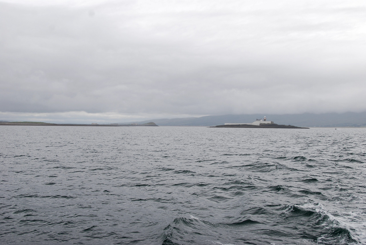 Departing Fenit...Little Samphire on the right. The lighthouse was established on 1st July 1854, de-manned on 5th December 1954, converted to unwatched on 15th December 1954 and electrified from 28th October 1976. [Source: Ireland's Lighthouses, a photo essay by John Eagle]<br /> <br /> From setting out from Portumna on July 20th until our return on 17th August my Nikon D80 recorded 759 photos!  A substantial number were recorded on this passage including many 'action' shots of Besie, Nauti Buoy and Pantou Pau.