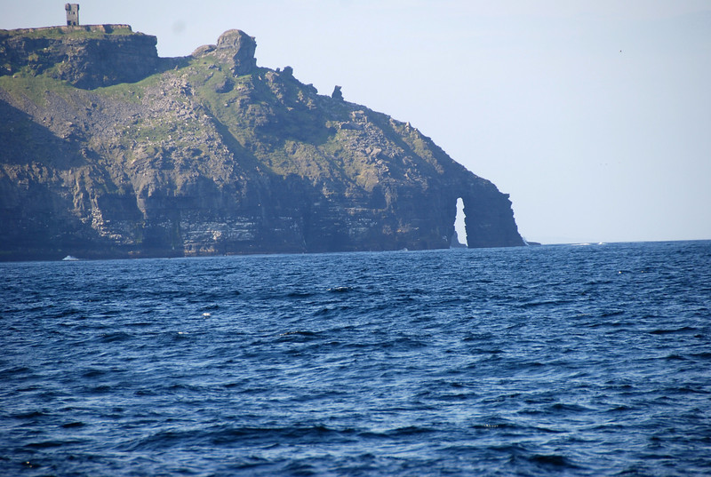 O'Brien's Tower (top left) and Eye of The Needle (right)