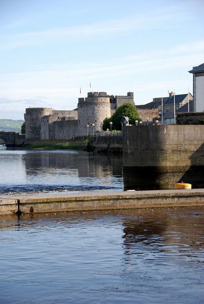 King John's Castle viewed from Custom House Quay.