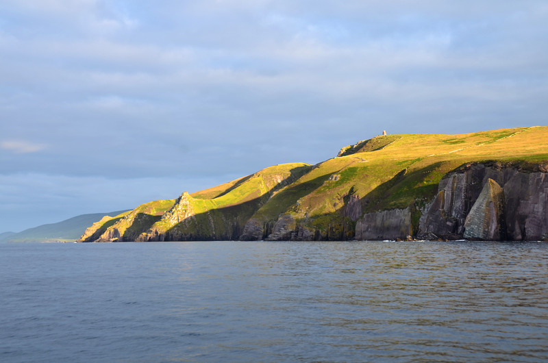 Having exited Dingle we are now headed towards the Blasket Sound. The sun was just right at this moment...