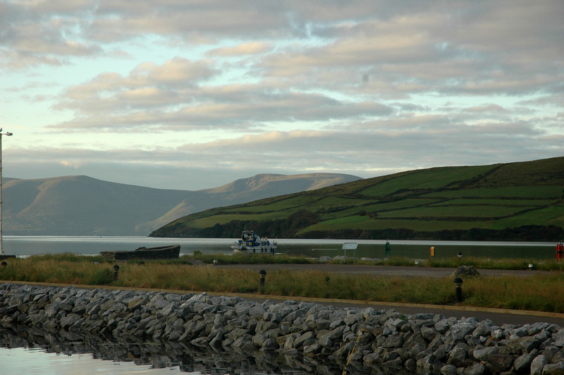 "Tuesday, 2nd August, 2011...circa 06.40. Shortly after 06.00 hrs, after consulting the latest weather forecasts ,we made the decision to head back to Kilrush.  The forecasts for the coming week were not encouraging. In this photo, taken by Caoimhe Ryan, ""Arthur"" departs Dingle Marina. Pantou Pao and Colibri would follow shortly.<br /> <br /> Photo: Caoimhe Ryan"