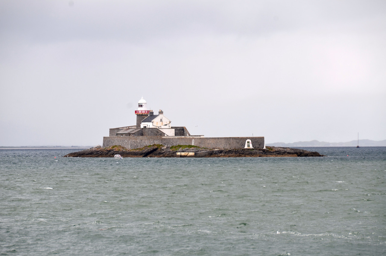 Greta Samphre as viewed from the harbour wall in Fenit