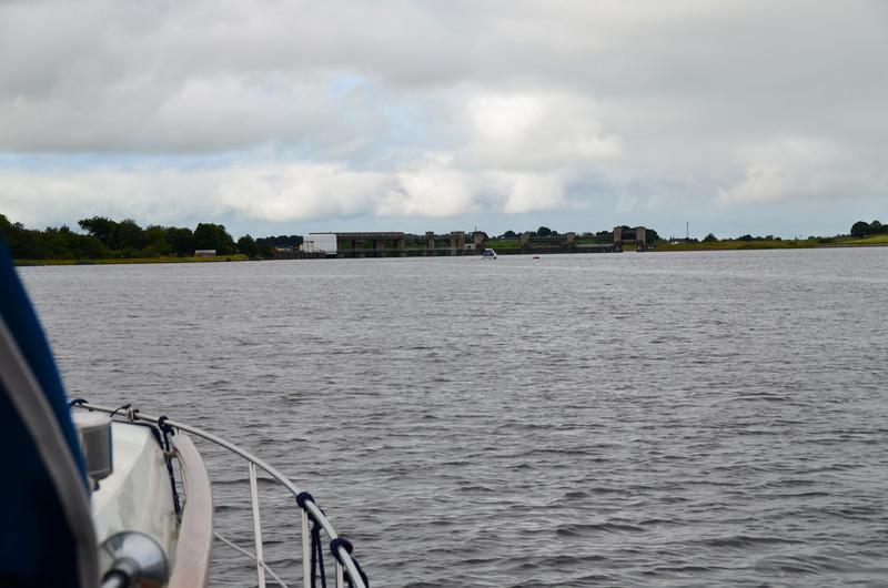 Approaching Parteen Weir.