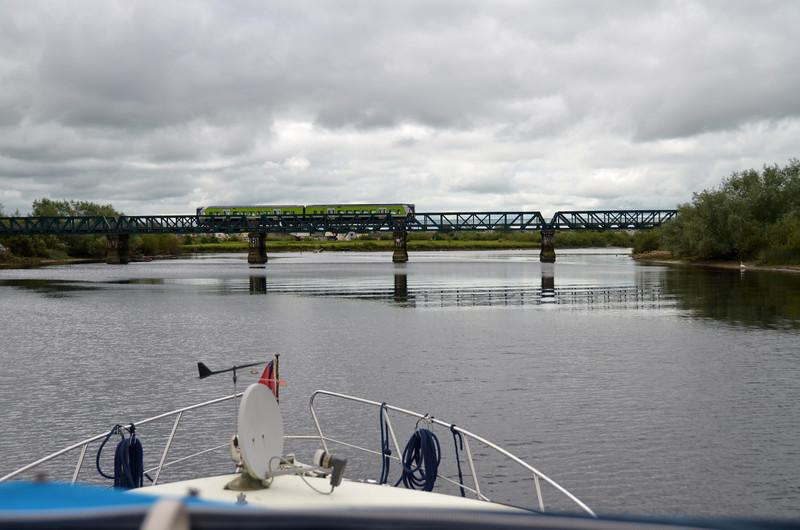 The Railway Bridge...complete with train...