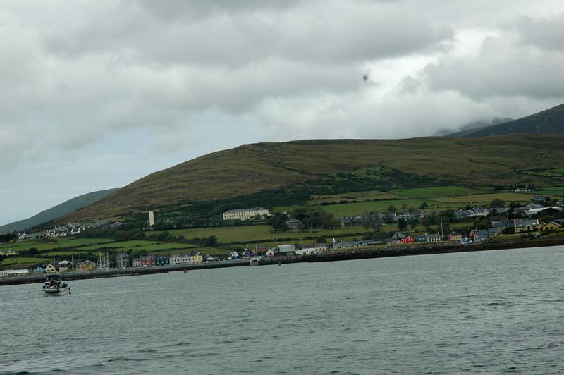 Circa 13.00 hrs... Arthur approaches Dingle Marina.<br /> <br /> Photo: Caoimhe Ryan