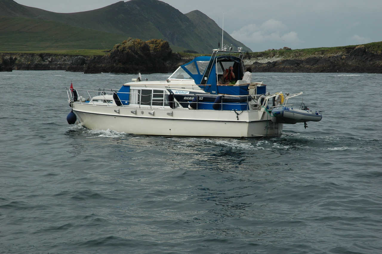 Arthur in the Blasket Sound<br /> <br /> Photo: Caoimhe Ryan
