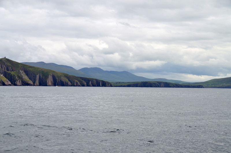 Entrance to Dingle Harbour/Marina.  Not easy to spot....unless you have been there before!