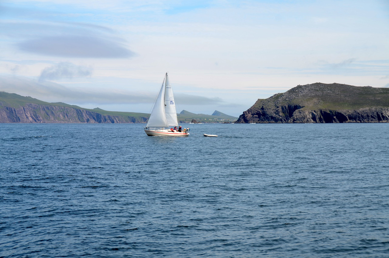 It is not often that the Blasket Sound is this calm!