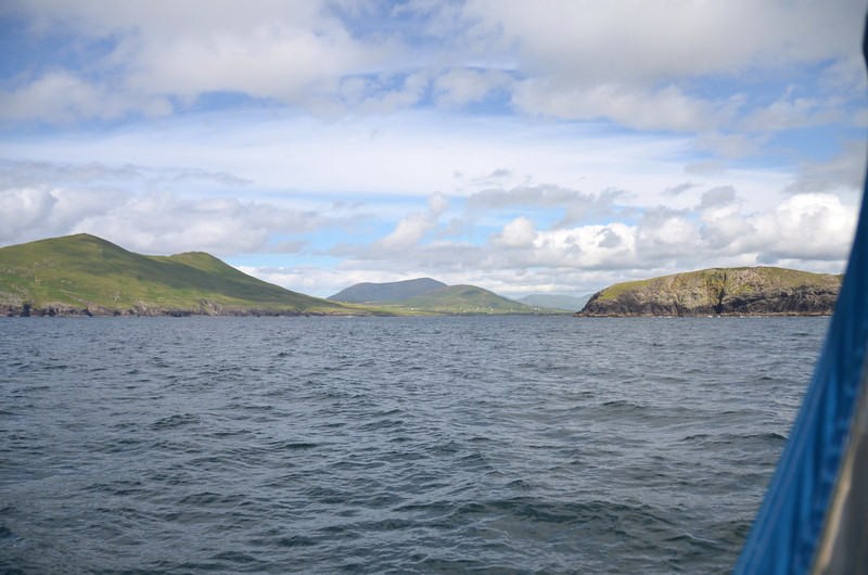 """Wednesday, 11th July circa 14.30hrs """"Arthur"""" departed Dingle in the hope of completing a passage to Lawrence Cove.  Unfortunately sea state not comfortable as we approached Valentia Island and we made the decision to divert to Cahersiveen."""