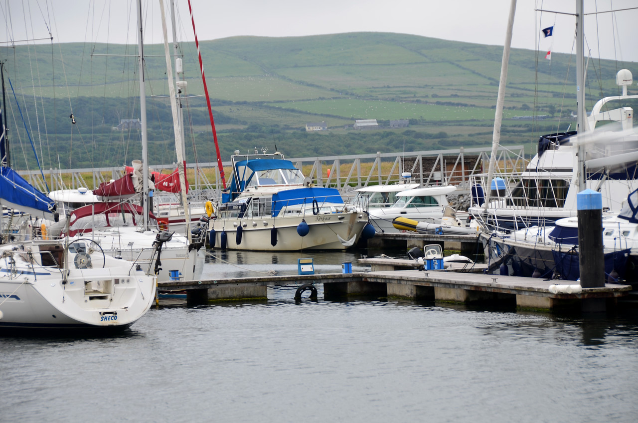 """""""Arthur"""" nestling in the same berth that she occupied two years ago."""