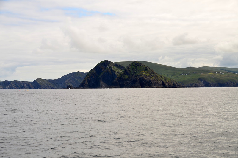 Passing Scariff Island.