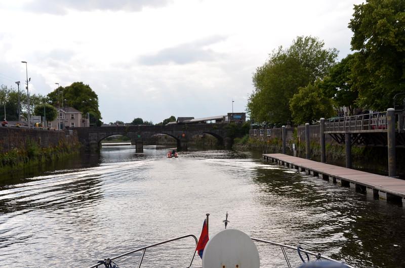 Approaching Mathew Bridge.