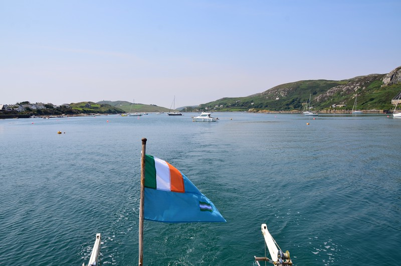 Circa 13:20.... and, with her IWAI ensign fluttering gently in the light breeze, Arthur commences her departure from Crookhaven.<br /> <br /> Part 3 to follow.