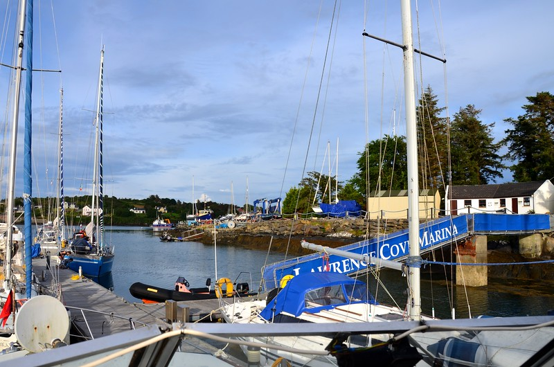 Berthed in Lawrence Cove Marina.  Another smooth passage under the belt!  Difficult to think that this photo was taken circa 20:00 hrs!