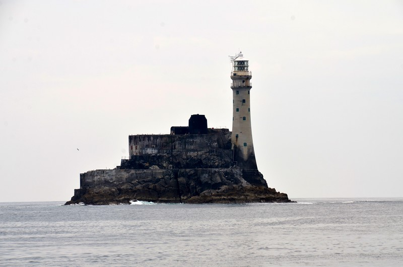 circa 12:45...The Fastnet Rock and Lighthouse.