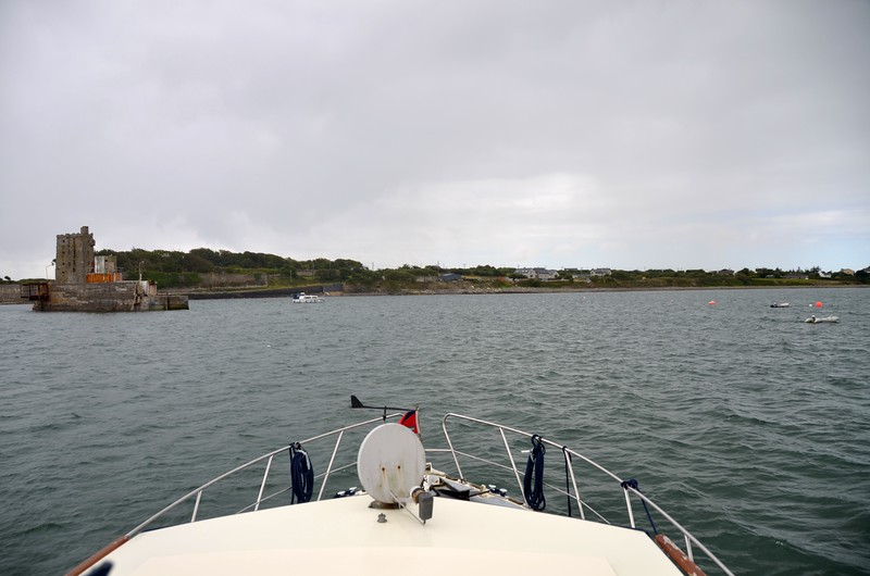 Circa 14;25...we detoured into Carrigaholt. Hadn't been there for several years. Wanted to see the visitors moorings.