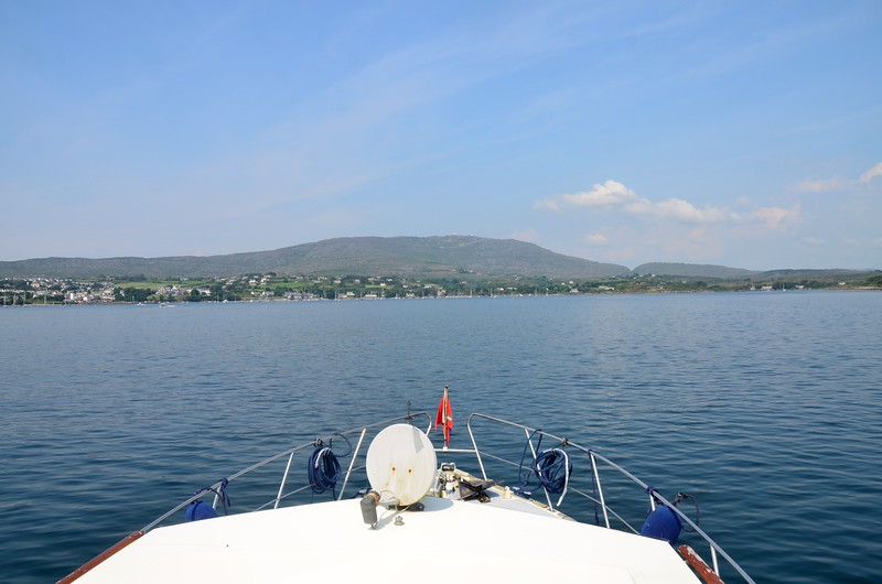 circa 14:30...entering Schull Harbour.