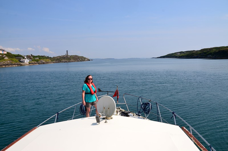 circa 13:20... Arthur's bow is pointed towards the entrance to Crookhaven Harbour as we head for Schull.  Another day of glorious weather beckons. And another entry on my Bucket List is about to be ticked....<br /> <br /> Cruising time will be approximately 70-80 mins.