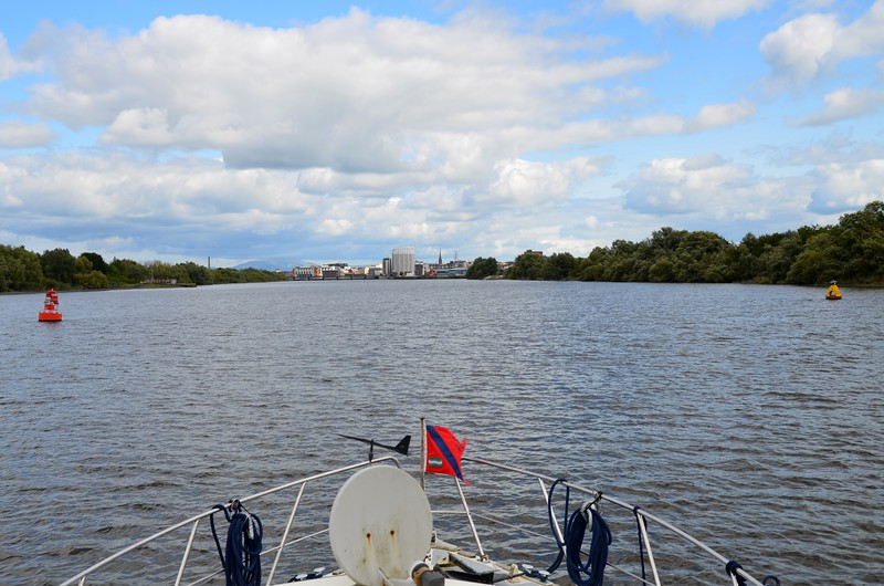 circa 15:00...approaching Limerick, approximately five hours after departing Kilrush.