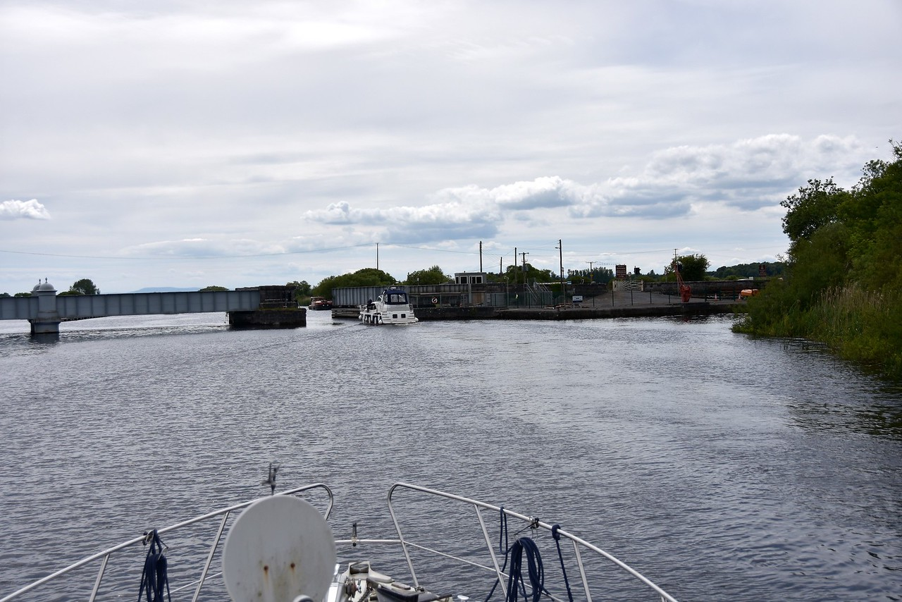 We head through Portumna Bridge. Our first destination is actually Rossmore.  Given the weather forecast there is no urgency in getting to Kilrush.