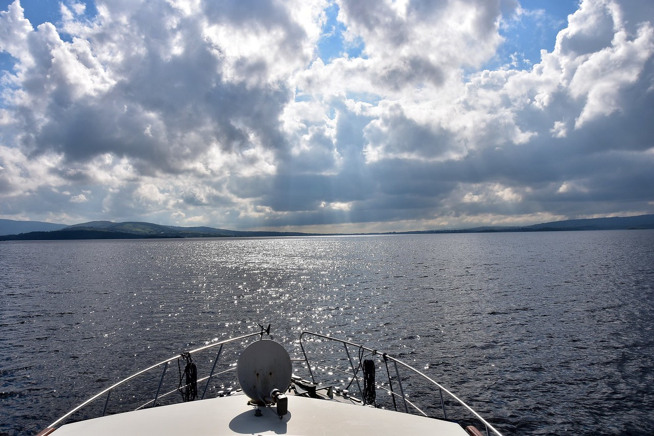 circa 17:30 and we have passed Parker Point. ETA at Killaloe is circa 18:30. It has been a good day and the passage has been very smooth and weather has been sunny and rain-free!