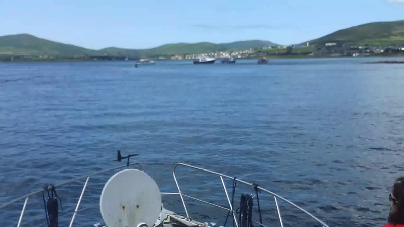 VIDEO<br /> <br /> circa 14:37... click the above image to view a 14 second video clip of Arthur in Dingle Harbour. <br /> <br /> When the video is 'Loaded' you will need to click on the 'Play' button to start the video playback.<br /> <br /> NOTE that viewing the video will cause another page to open in which the video will play. To return to the PhotoJournal click on the X at top right-hand corner of the video page OR hit the 'Back' button on your browser.