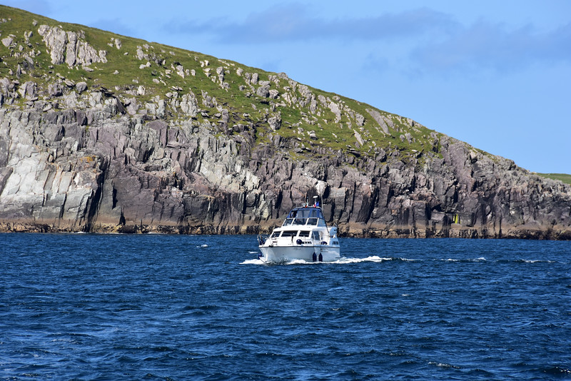 Cool Runnings transiting Blasket Sound.