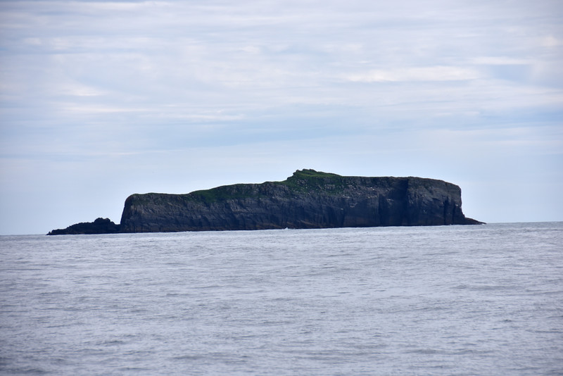 15:58...The Cow.  What always intrigues me is how the view of these islands (rocks?) changes as the angle differs as we make our way through the water towards Dursey Head.
