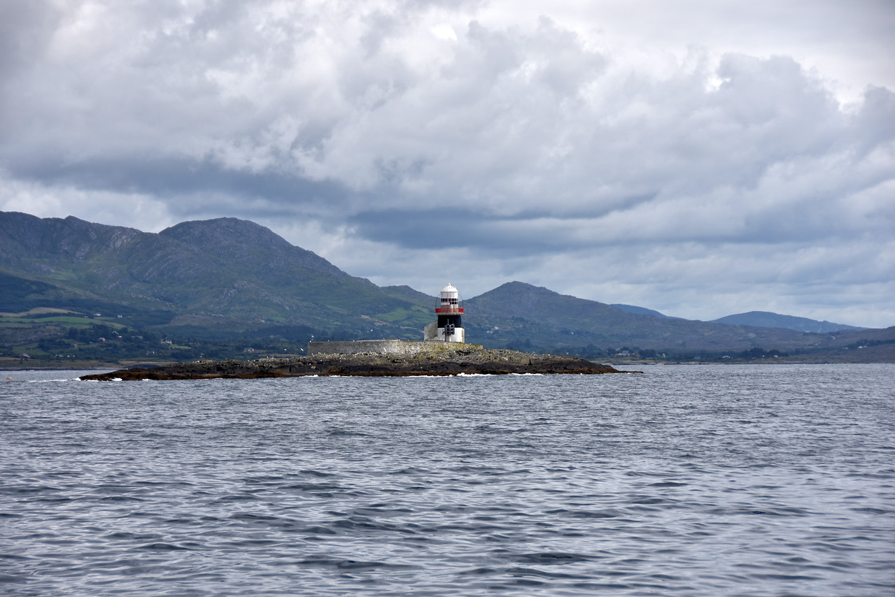 Circa 11:35...Passing Roancarrigmore Lighthouse.