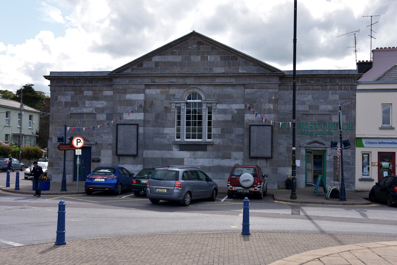 Bantry Harbour Master's office which also houses the Tourist Office. We called in to pay the mooring fee and to say 'Thank You' for the assistance provided upon our arrival in Bantry Harbour.