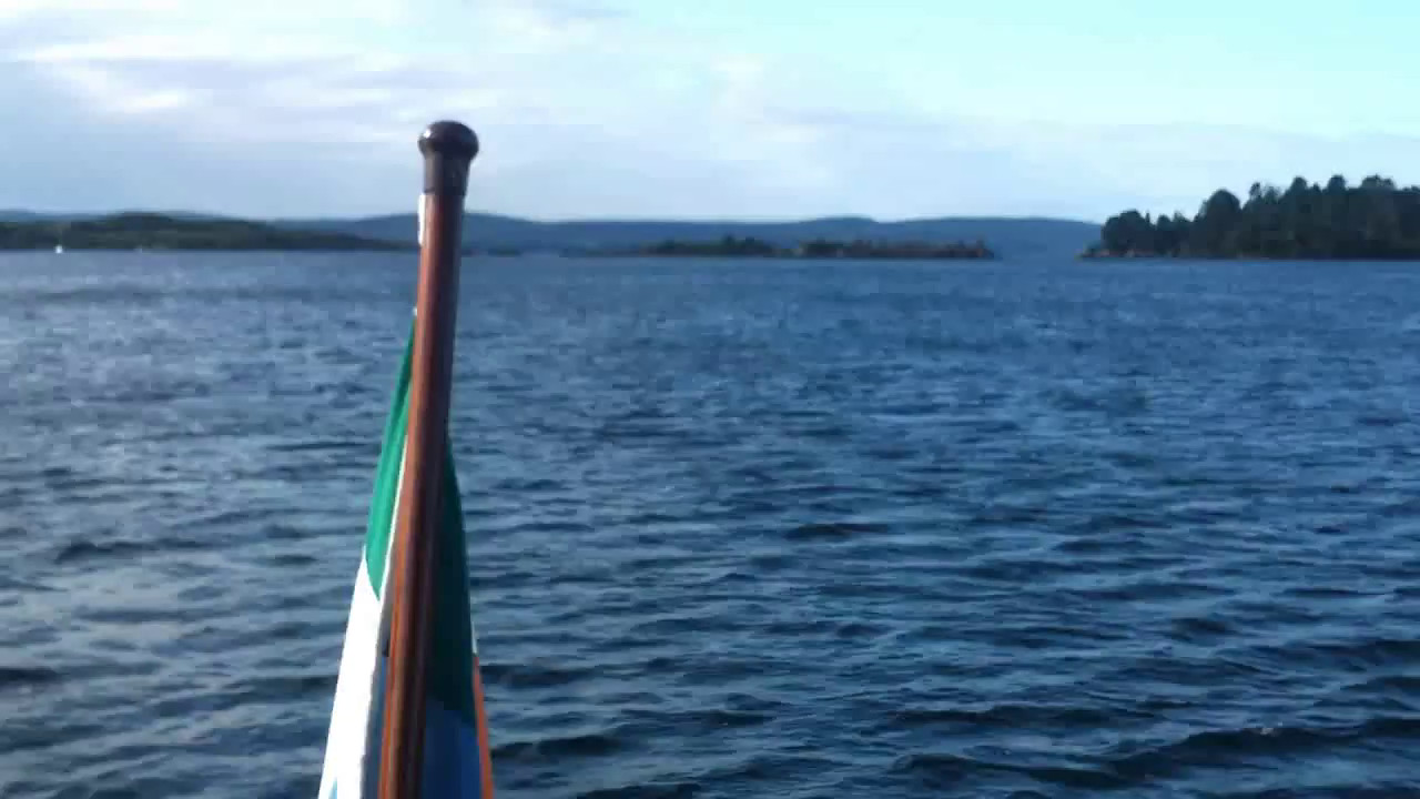 """VIDEO<br /> <br /> 08:48...click the above image to view a 47 second video clip  of """"Arthur"""" prior to departing Glengarriff Harbour. <br /> <br /> When the video is 'Loaded' you will need to click on the 'Play' button to start the video playback.<br /> <br /> NOTE that viewing the video will cause another page to open in which the video will play. To return to the PhotoJournal click on the X at top right-hand corner of the video page  OR hit the 'Back' button on your browser."""