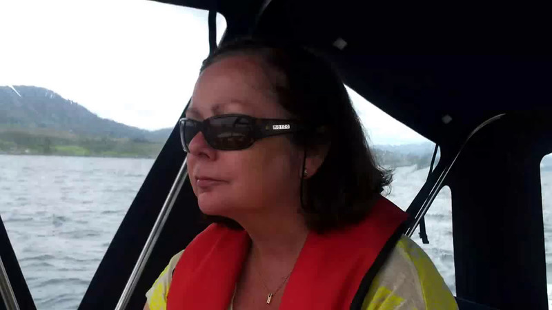 "VIDEO<br /> <br /> 13:29...click the above image to view a 48 second video clip  of ""Arthur"" as she starts the approach to Berehaven with Roancarrigmore Lighthouse visible in the distance.  <br /> <br /> When the video is 'Loaded' you will need to click on the 'Play' button to start the video playback.<br /> <br /> NOTE that viewing the video will cause another page to open in which the video will play. To return to the PhotoJournal click on the X at top right-hand corner of the video page  OR hit the 'Back' button on your browser."