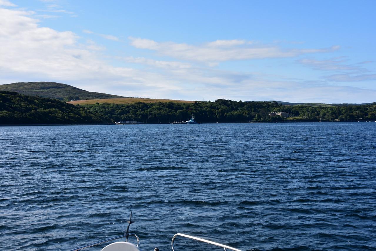 circa 09:50...Bantry Harbour ahead.