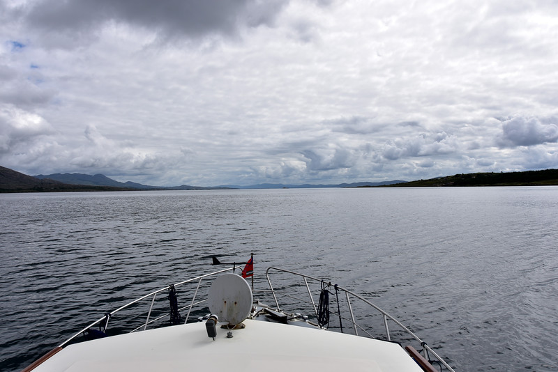 We head along Berehaven towards the East Entrance which leads to Bantry Bay.