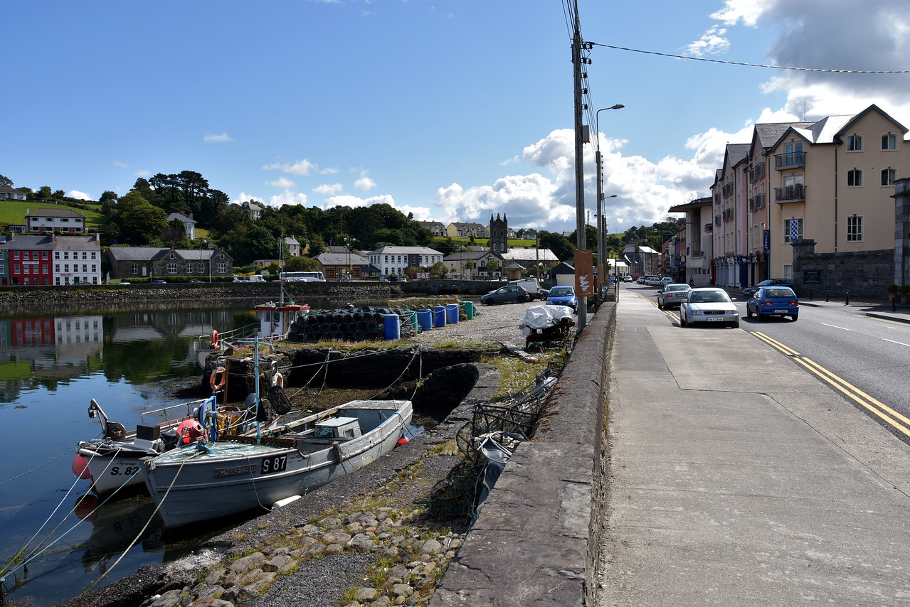 Approaching Bantry Town.
