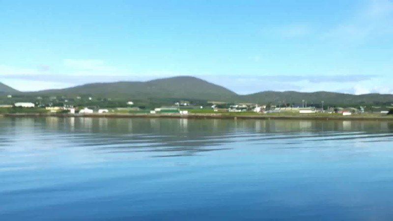 "VIDEO<br /> <br /> 09:07...click the above image to view a 43 second video clip  of ""Arthur"" passing Castletownbere. <br /> <br /> When the video is 'Loaded' you will need to click on the 'Play' button to start the video playback.<br /> <br /> NOTE that viewing the video will cause another page to open in which the video will play. To return to the PhotoJournal click on the X at top right-hand corner of the video page  OR hit the 'Back' button on your browser."
