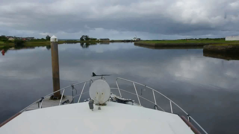 "VIDEO<br /> <br /> 08:38...click the above image to view a 28 second video clip  of ""Arthur"" prior to departing Kilrush Marina. <br /> <br /> When the video is 'Loaded' you will need to click on the 'Play' button to start the video playback.<br /> <br /> NOTE that viewing the video will cause another page to open in which the video will play. To return to the PhotoJournal click on the X at top right-hand corner of the video page  OR hit the 'Back' button on your browser."