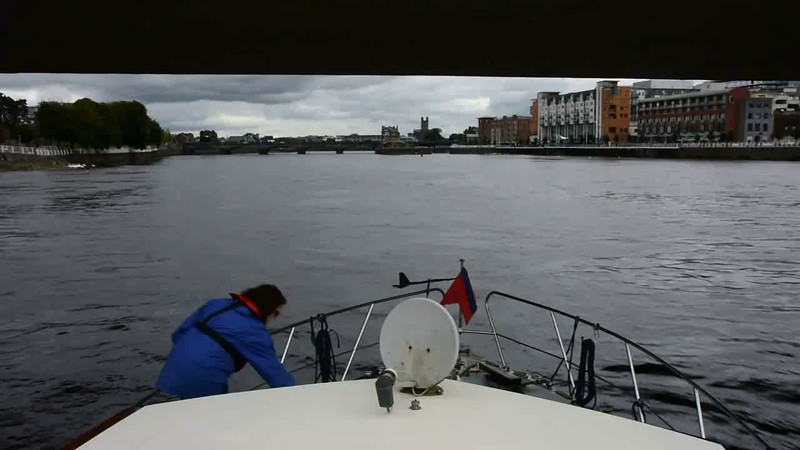 VIDEO<br /> <br /> circa 15:05... approaching Sarsfield Lock.<br /> <br /> Click the above image to view a 21 second video clip. <br /> <br /> When the video is 'Loaded' you will need to click on the 'Play' button to start the video playback.<br /> <br /> NOTE that viewing the video will cause another page to open in which the video will play. To return to the PhotoJournal click on the X at top right-hand corner of the video page  OR hit the 'Back' button on your browser.