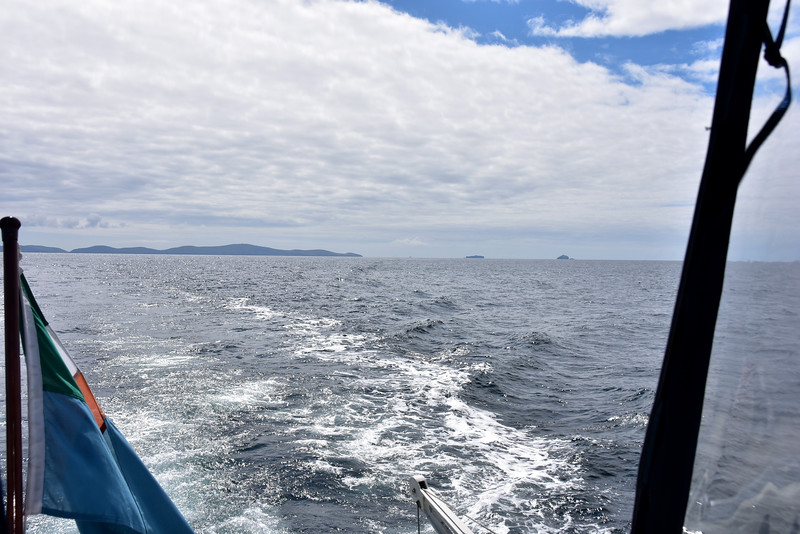 12:22...looking astern at Dursey Head and The Bull and The Calf.