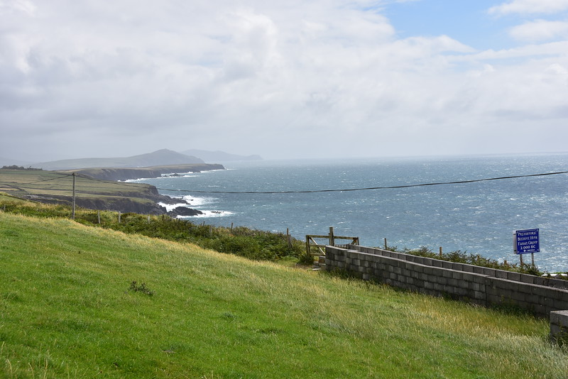 Another view of Dingle Bay from the Beehive Huts.