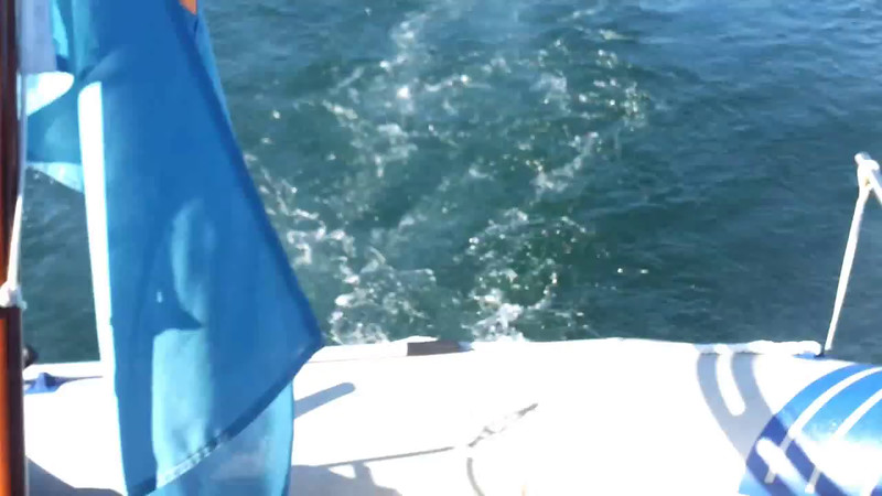 "VIDEO<br /> <br /> 08:39...click the above image to view an 18 second video clip  of ""Arthur"" departing Lawrence Cove Marina. <br /> <br /> When the video is 'Loaded' you will need to click on the 'Play' button to start the video playback.<br /> <br /> NOTE that viewing the video will cause another page to open in which the video will play. To return to the PhotoJournal click on the X at top right-hand corner of the video page  OR hit the 'Back' button on your browser."