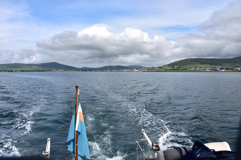 11:10...Leaving Dingle in our wake!